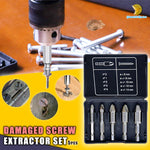 Damaged Screw Extractor Set (5pcs)