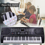 Piano Key Sticker
