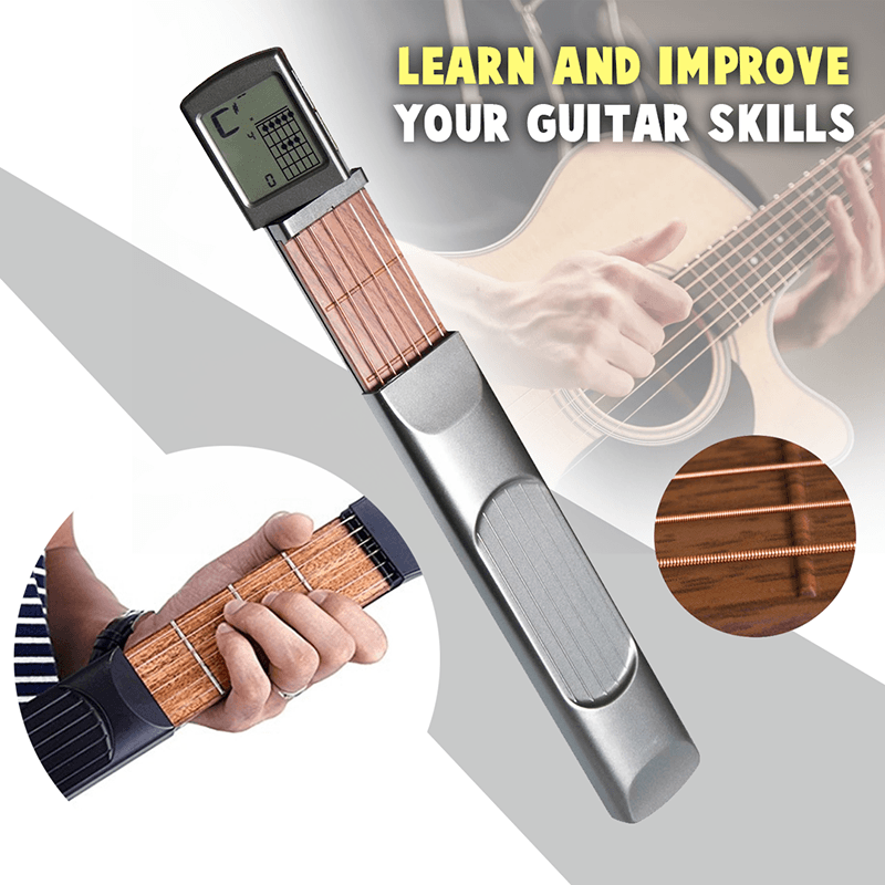 Chord Pal Best Pocket Guitar with Display