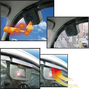 Solar Powered Car Exhaust Fan