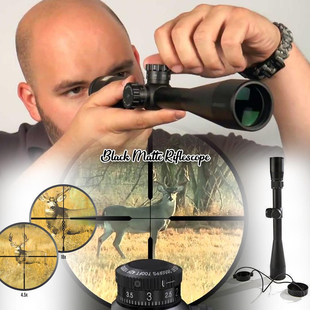 Black Matte Riflescope
