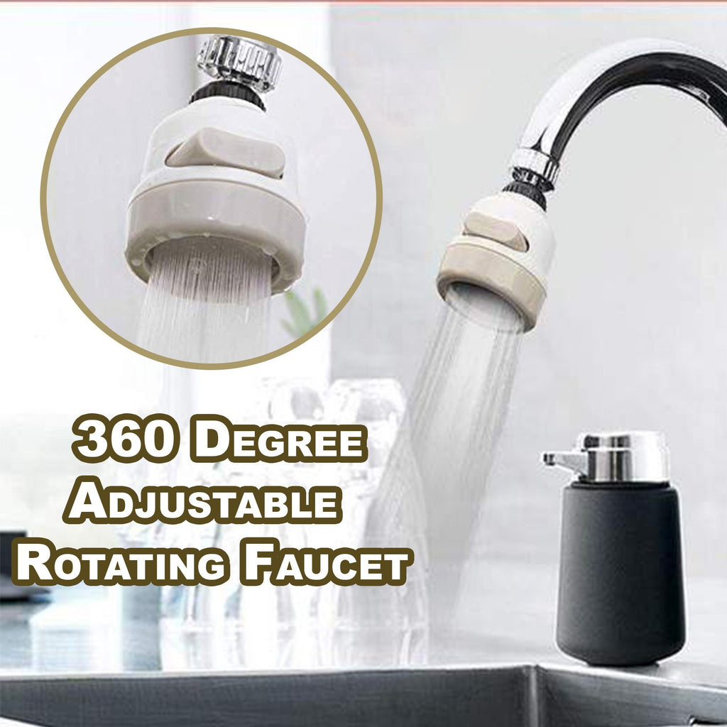 360 Degree Adjustable Rotating Faucet