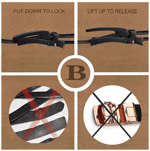 Perfect Fit Leather Belt