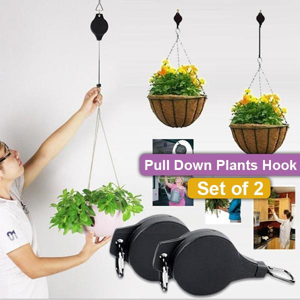 Pull Down Plants Hook