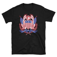 Vintage Eagle / United We Stand -  Short-Sleeve Unisex T-Shirt