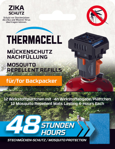 Thermacell Nachfüllpackung Backpacker 48 Stunden M-48