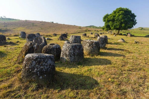 Top 10 Holiday Destinations for avid travellerfor avid traveller - The Plain of Jars, Laos