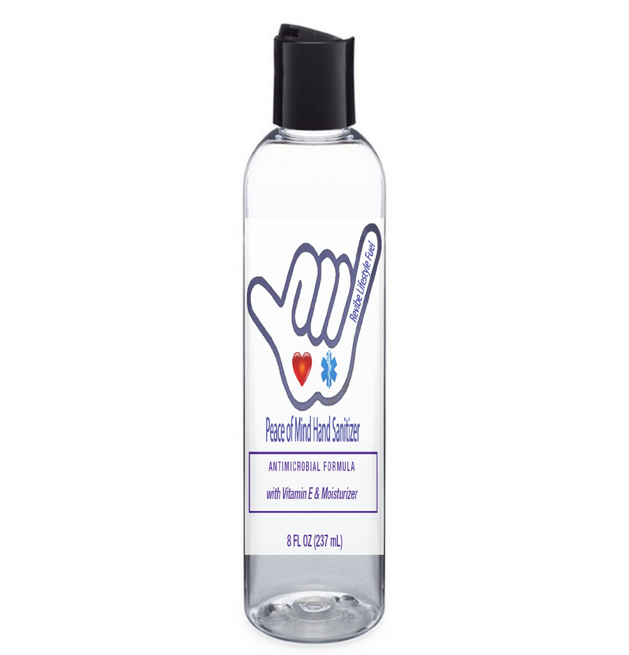 P.O.M Peace of Mind Antimicrobial Hand Sanitizer