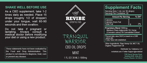 Tranquil Warrior - 1000mg Formula
