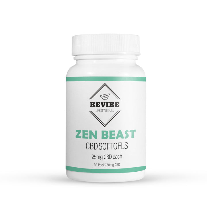 Zen Beast - 25mg SoftGels