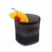 Vaso con Gel para Whisky, color Humo