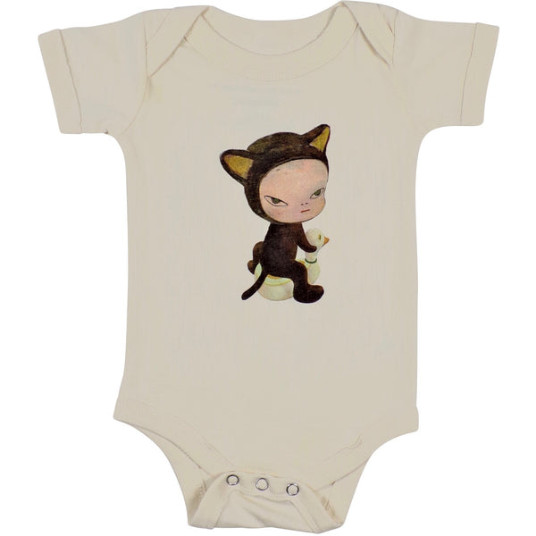Yoshitomo Nara Harmless Kitty Onesie
