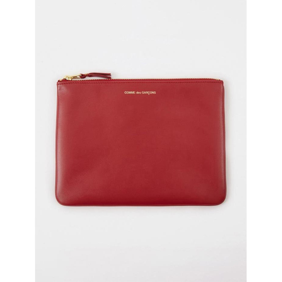 Comme des Garçons Classic Wallet in Red