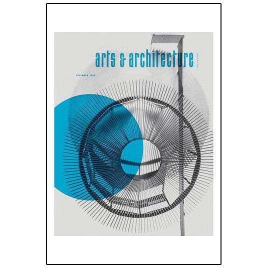 SALE John Follis & Gerald Ratto: 'Arts & Architecture' Signed Print