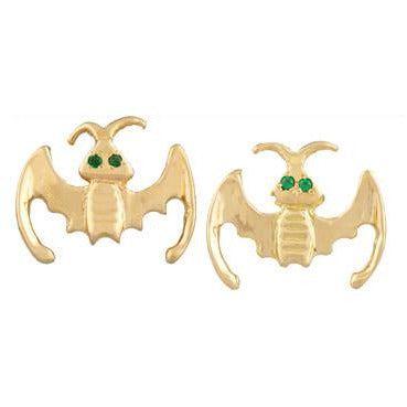 anita-ko-18k-gold-bat-earrings