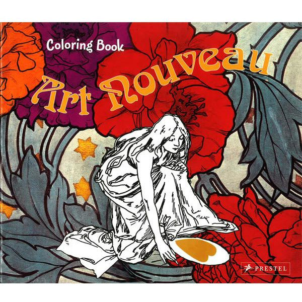 Coloring Book Art Nouveau