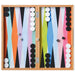 Colorful Backgammon Set