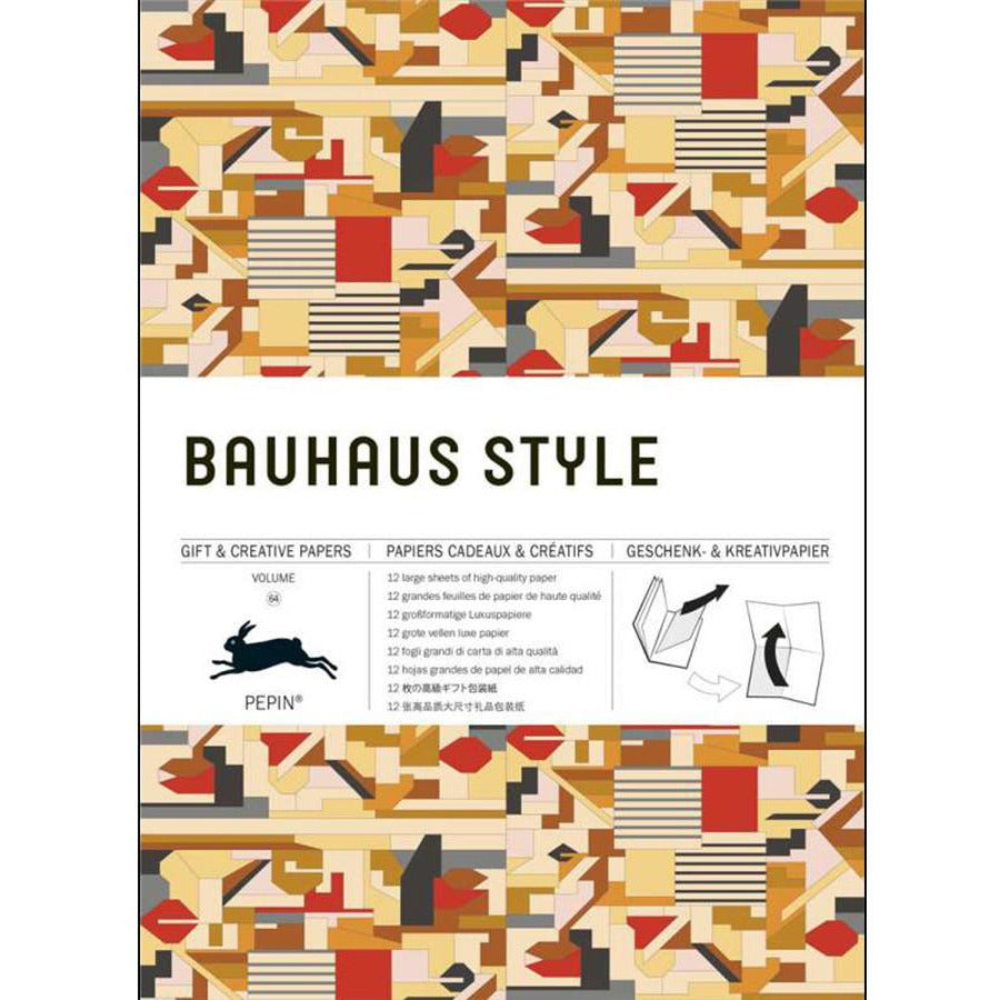 Bauhaus Style Gift Creative Papers