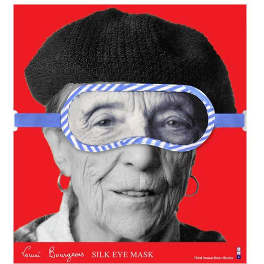 Louise Bourgeois Silk Eye Mask