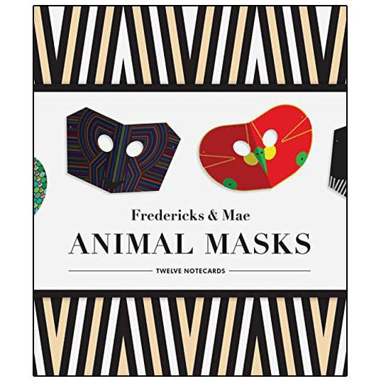Animal Masks Notecards
