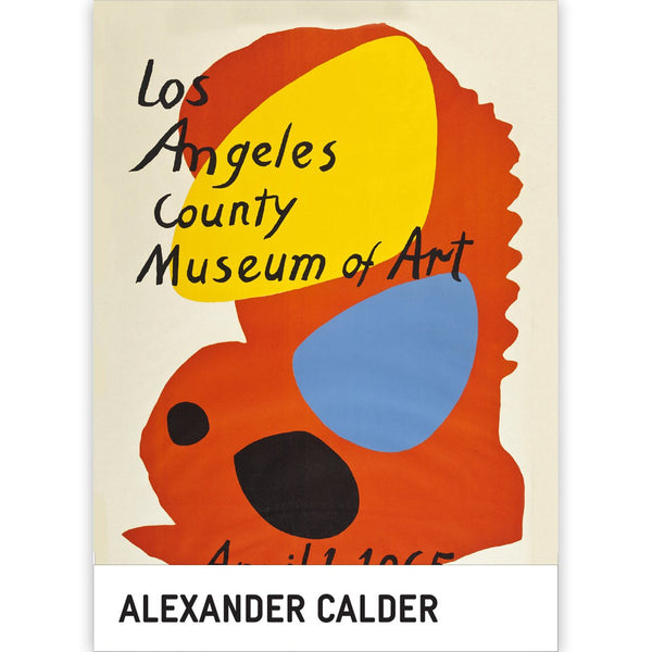 Alexander Calder Los Angeles County Museum of Art Notecard Box