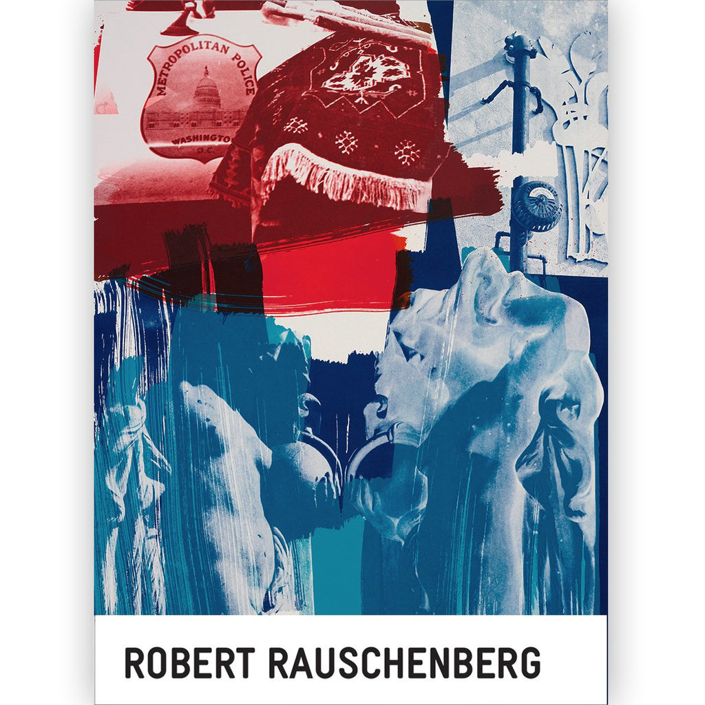 Robert Rauschenberg Blues Notecard Set