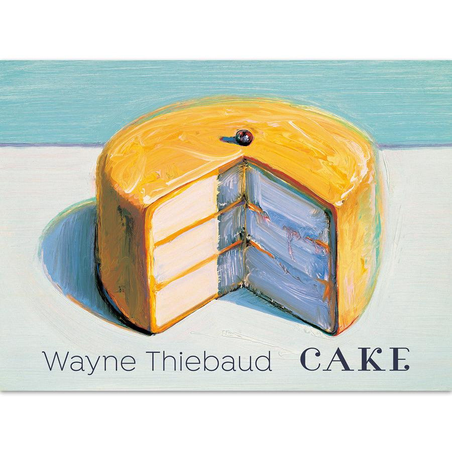 Wayne Thiebaud Cake Notecard Set