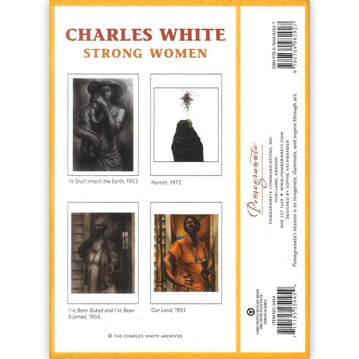 Charles Whitie Strong Women Notecard Set