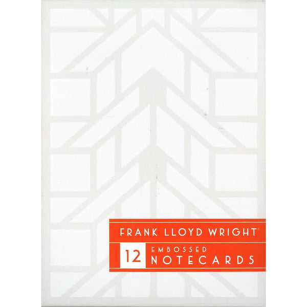 Frank Lloyd Wright Embossed Notecards