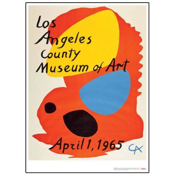 calder-los-angeles-county-museum-art-poster