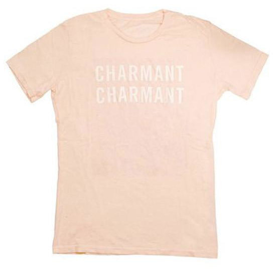 Clare Vivier Blush T-shirt 'Charmant