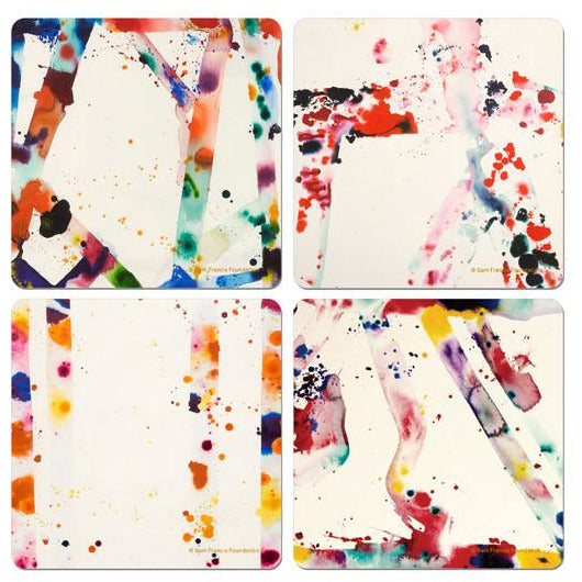 Sam Francis Set of Four Coasters