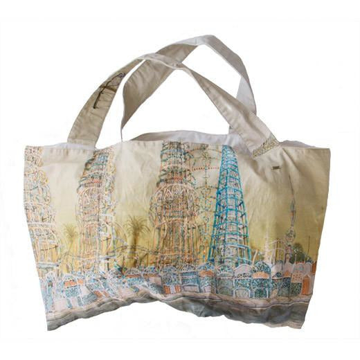 Dosa 'Watts Towers' Market Bag