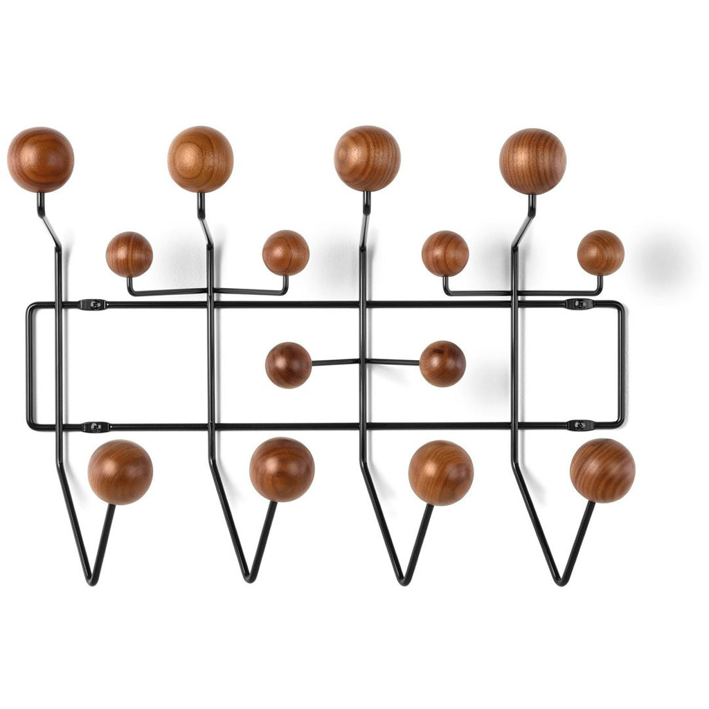 Eames® Hang-It-All Walnut and Black
