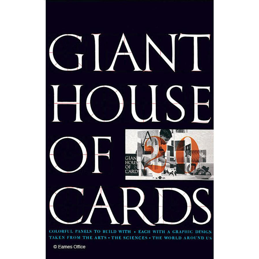 Charles Ray Eames Giant House Cards