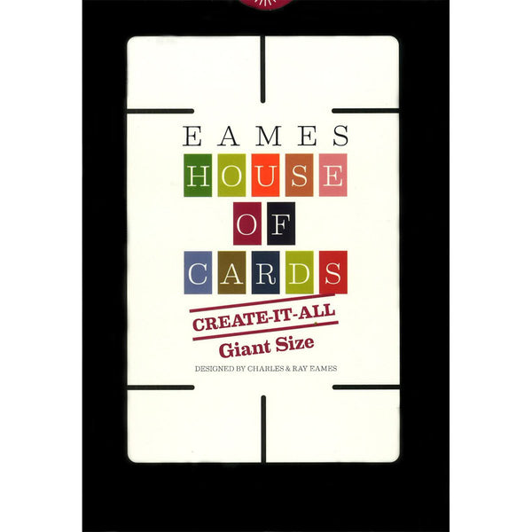 Eames Giant Create-It-All House of Cards