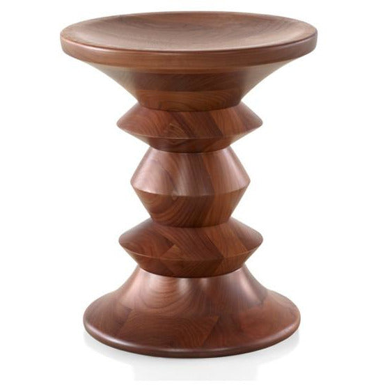 Eames Walnut Stool Shape C