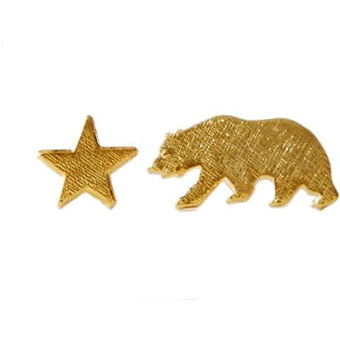 Bear Star Earrings