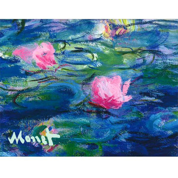 Claude Monet Evening Waterlilies Note Card Folio