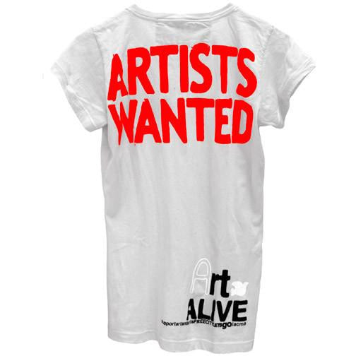 FREECITY 'Artists Wanted' Gesso Tee