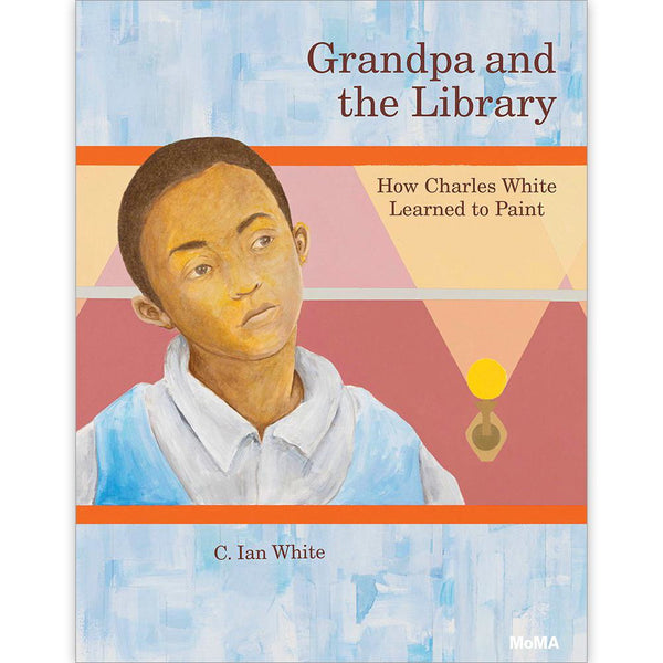 Grandpa-Library-How-Charles-White-Learned-to-Paint-book