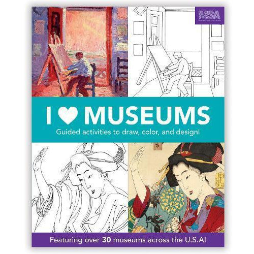 I Heart Museums Guided Activity Book