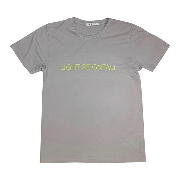 James Turrell Light Reignfall Men's T-Shirt in Ash Gray by re:la for Wear LACMA