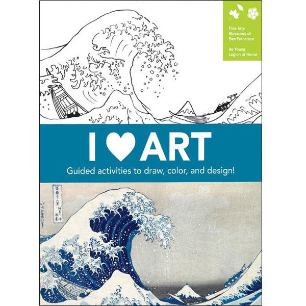 I Heart Art Activity Journal