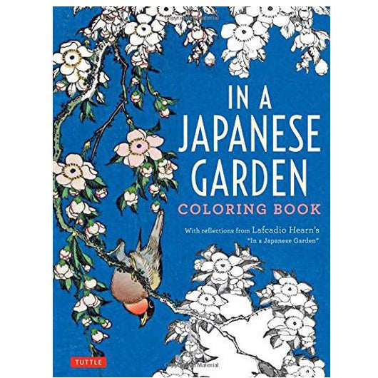 Japanese Garden Coloring Book