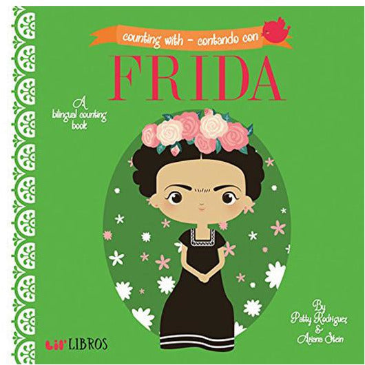 Counting With / Contado Con Frida Board Book