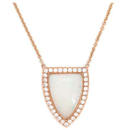 Anita Ko 18-Kt Opal and Diamond Large Pendant