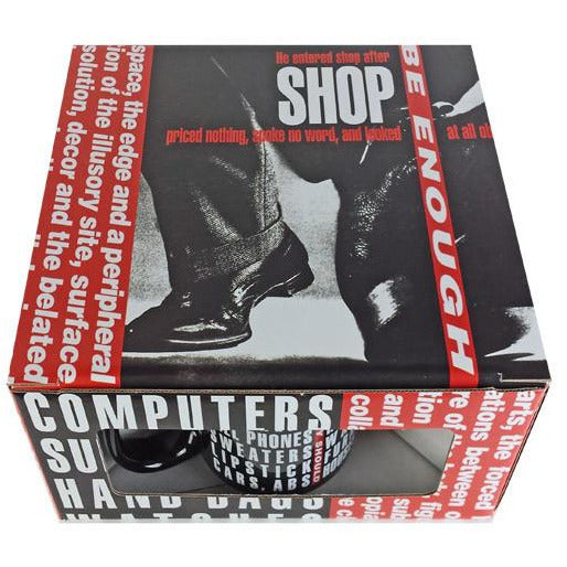 Barbara Kruger Untitled (Shafted) Mug Set