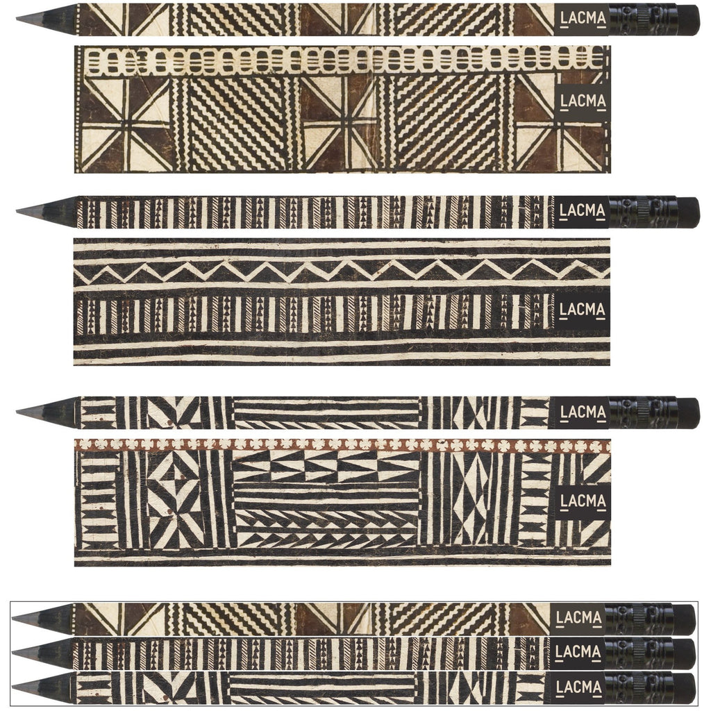 Fiji Textiles Set of 3 Jumbo Pencils