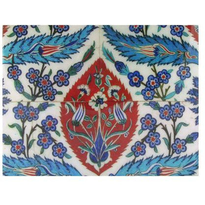 SALE: Iznik 'Tile Panel' Lacquer Box